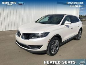 2016 Lincoln MKX Reserve  - Leather Seats -  Cooled Seats - $278