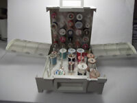 SEWING ACCESSORY HOLDER & ACCESSORIES - Singer Homechest