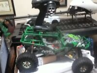 Axial Wraith Electric 4x4 RC Truck