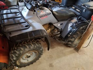 Parting out 2000 honda 300 fourtrax