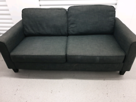 Free Delivery Grey 3 Seater Sofa
