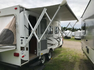 Hybrid Trailer Rental - Delivered, Set-up and Picked up!!