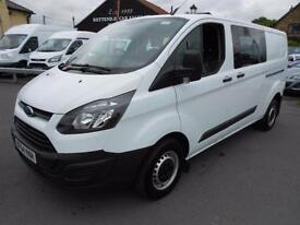 Ford Transit Custom 290 LR Eco-Tech Double Cab Only 43K Miles