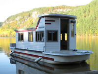 Trailerable 24' Houseboat/ Deckboat with dual axle Trailer