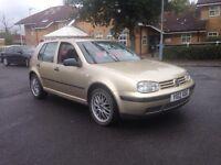 2000 reg Volkswagen Golf tdi