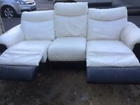 DFS electric recliner sofa. Possible delivery