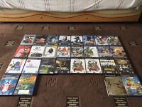 Retro games: Mega drive, PS1, Loads of PS2 games/collections and ps3