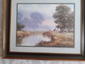 A country scene Print