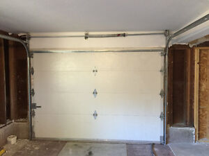 Garage door insulated 6' H X 9'W