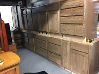 Solid Oak Quality Husk Cupboards-New-Enough for 3 kitchens
