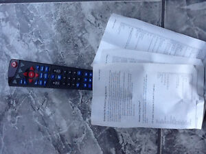 Universal TV, video, DVD remote