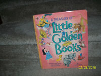 VINTAGE HARD COVER LITTLE GOLDEN BOOK TREASURY