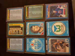 Hockey cards for sale from 1979 80