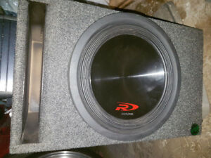 Subwoofer 12 Inch Type R with amp