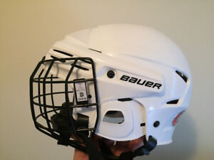 Bauer Hockey helmet with cage for Sale