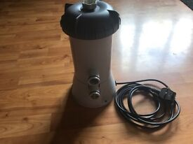 Swimming pool filter pump.