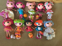 Lalaloopsy dolls like new with pets and special edition