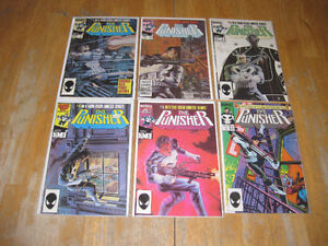 Punisher vintage Key comic Books