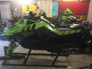2011 Arctic Cat F8 Ltd one owner with upgrades