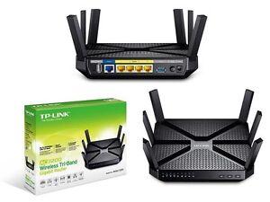 LNIB TP-Link Archer AC3200 Wireless Tri-Band Gigabit Router