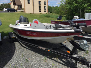 Stratos 176XL Bass boat with 50HP Yamaha and Trailer