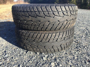 Two 205/60R16 Winter Tires