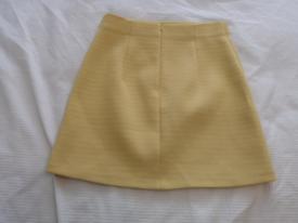 Zara Yellow Skirt