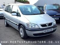 2005 VAUXHALL ZAFIRA 1.6i Design just 66k miles new MOT