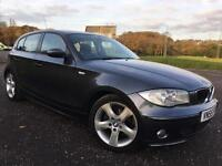 2005 55 BMW 118I 2.0I SPORT MANUAL IN GREY METALLIC, GENUINE 129K