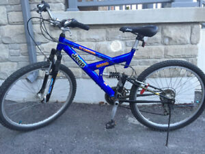 Jeep Mountain Bike FULL suspension, TJ Limited edition