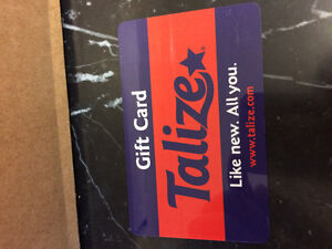 Talizer Gift Card