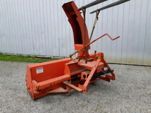 "54"" Compact blower, A  75"" & Two 84"" Rear 3pt Hitch Snow Blowers"