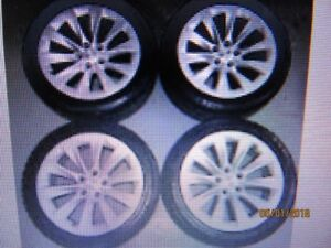 """Wanted 19"""" Tesla Rims and Winter Tires Package"""