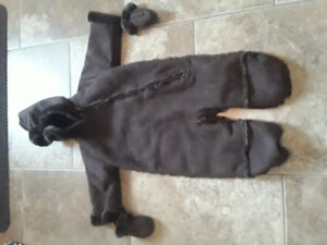 Baby Winter Coat and Winter Carrier Cover