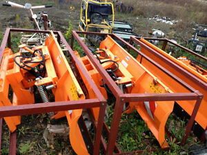 """86"""" and 96"""" Hydraulic Snow blade for Skid Steer Windsor Region Ontario image 3"""