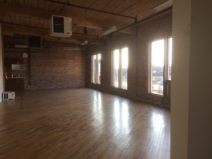 Location location beautiful loft style offices for lease