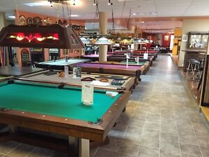 POOL TABLES MADE IN CANADA