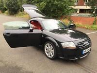 Audi TT Coupe 3.2 V6 DSG 2004MY quattro. RARE RED LEATHER TRIM, LOW MILES 73 K.