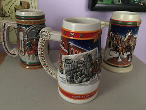 Budweiser Beer Steins