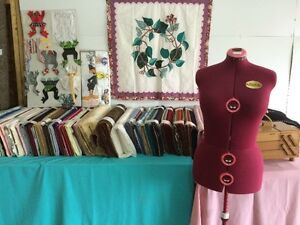 Fabric, Furniture, Crafts Garage Sale