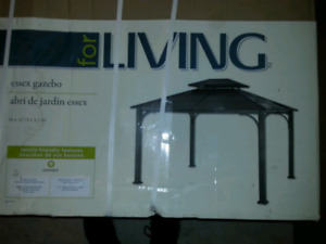 *NEW* For Living Essex Gazebo  10' W x 12' Lx 9.89' H