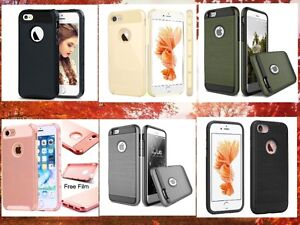 VARIOUS COVER CASES HYBRID SHOCKPROOF- IPHONE 6/6S/6S+/7/7 PLUS
