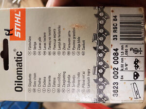 2 Stihl chainsaw chains. New, never used