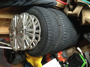 Tires rims and wheel covers