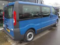 2013 Vauxhall VIVARO COMBI CDTI LWB MINIBUS *9 SEATER* Manual Crew Van