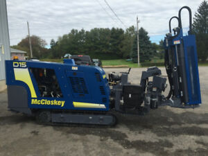NEW! McCloskey D15 / D15S Crawler Directional Drill