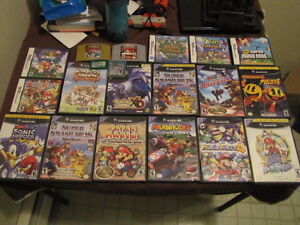 Many Gamecube Games, N64, NDS and GBA/GBC games