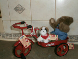 COCA COLA MINIATURE TRICYCLE AND BOYDS