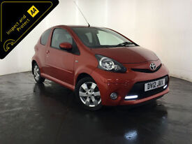 2012 TOYOTA AYGO VVT-I FIRE 1 OWNER FROM NEW SERVICE HISTORY FINANCE PX