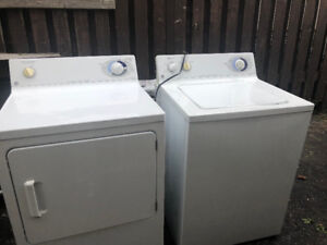 used washing machine and dryer bought in 2007